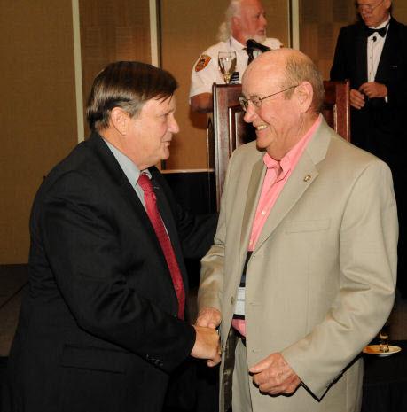 Jim Butler and MG E. Bargewell
