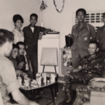CCN Vietnamese Commander and staff 1968.