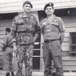 Paul Christensen with Chinese Nung Vietnam 1962