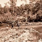 RT New York Crossing the La Dang River 1972