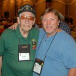 """James Shorten with Ben Baker. Ben was to Special Forces, what """"Q"""" was to James Bond. Special Operations Association, Las Vegas, NV October 21-24, 2014"""