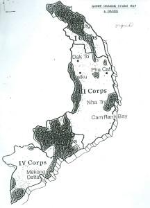 Map 4: Agent Orange Spray Map