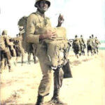 SFC Leroy N. Wright in paratroopers gear