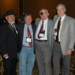 My brothers from CCC, Toby Todd, me, Ed Wolcoff, John Good.