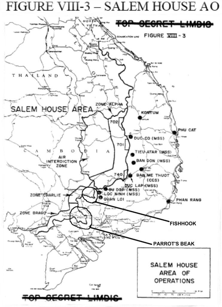 Salem House Area of Operation