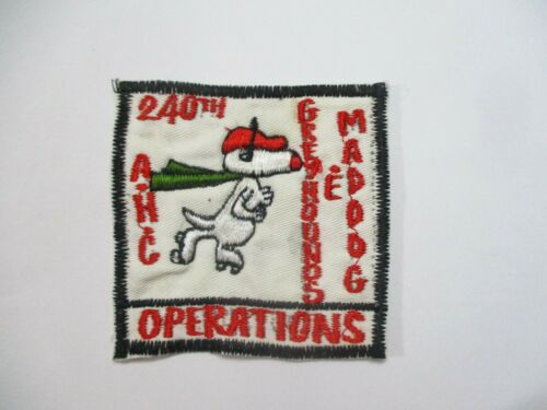 """240th Assault Helicopter Company (AHC) """"Greyhounds* & Mad Dogs"""""""