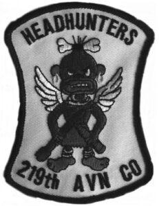 """219th Assault Helicopter Company (AHC) """"Head Hunters"""""""